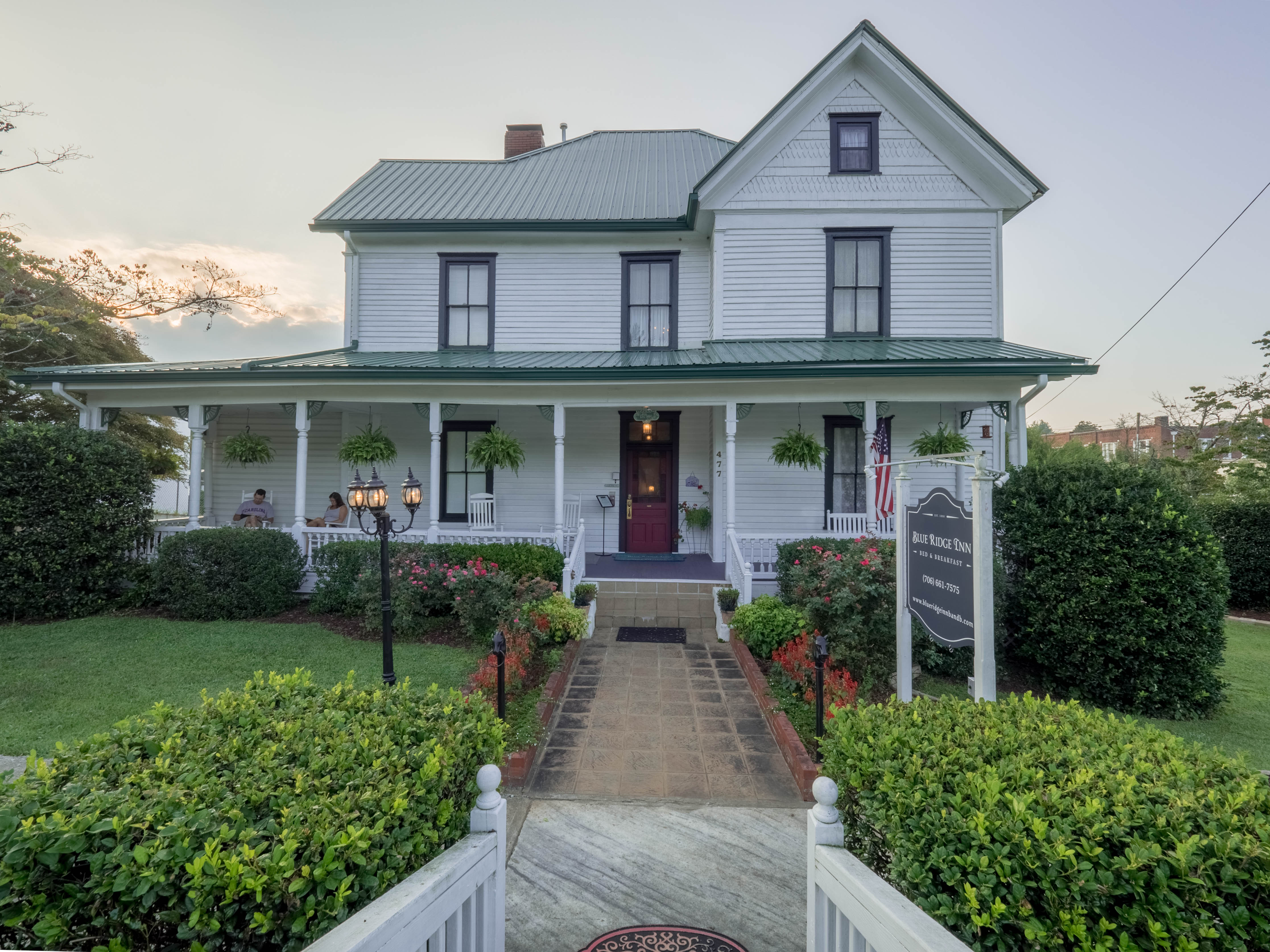bed and breakfast blue ridge mountains