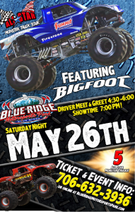 All Star Monster Trucks @ Blue Ridge Motor Sports Park | Blue Ridge | Georgia | United States