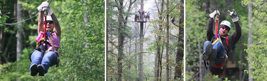 zip line canopy tours