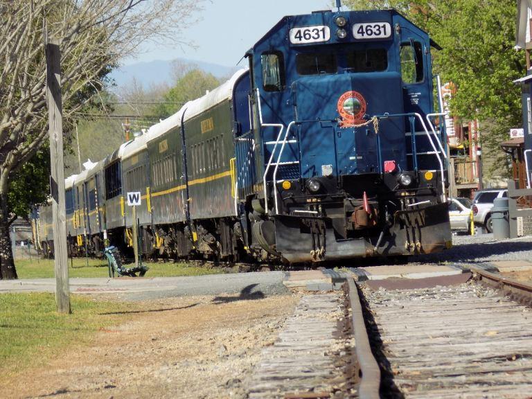 ALL ABOARD! A Trip on the Blue Ridge Scenic Railway.