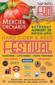 Hard Cider & Beer Festival @ Mercier Orchards | Blue Ridge | Georgia | United States