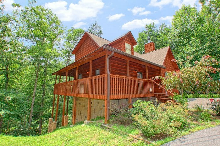 vacation cabin near blue ridge GA
