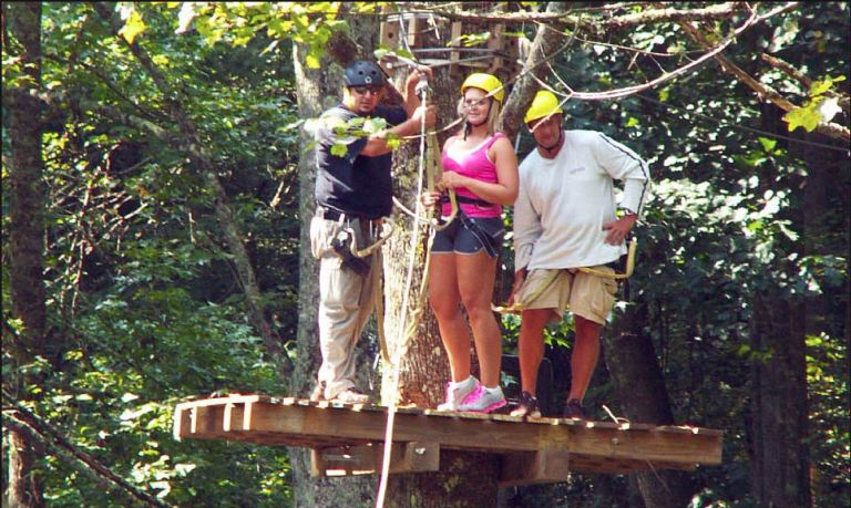 Blue Ridge Mountain Canopy Adventure