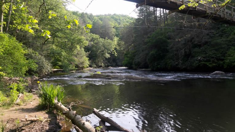 toccoa river cherokee indians history