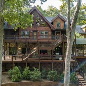 blue ridge lake cabin