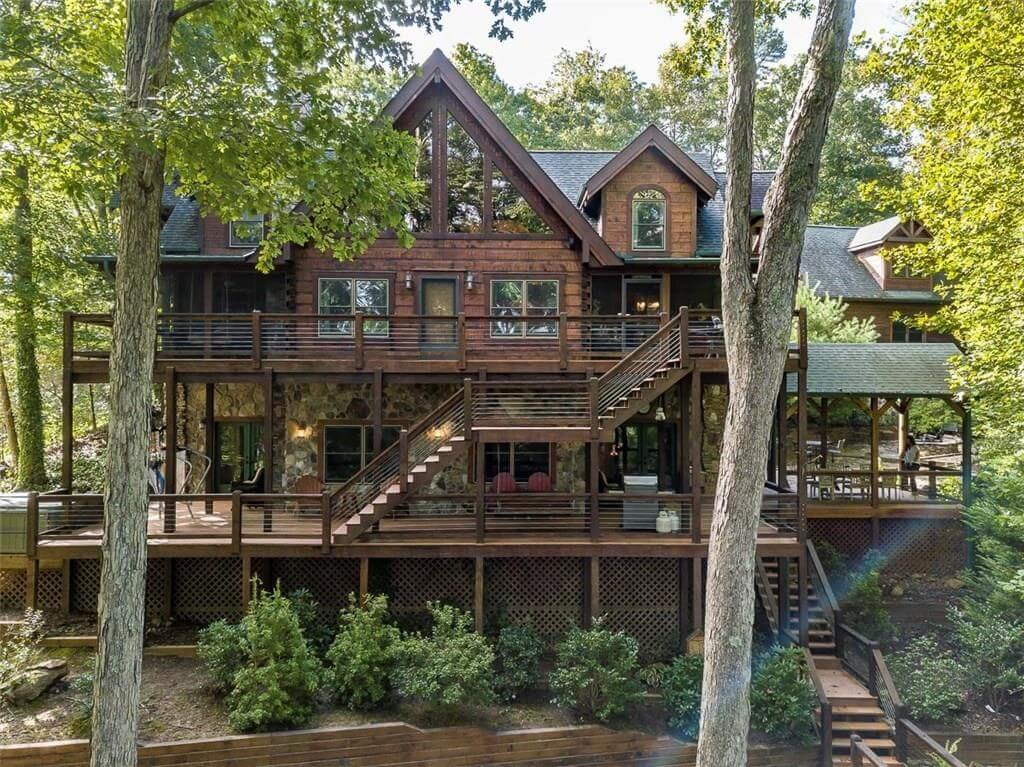 Atlanta Braves Legend Chipper Jones is Selling His Lake Blue Ridge Cabin