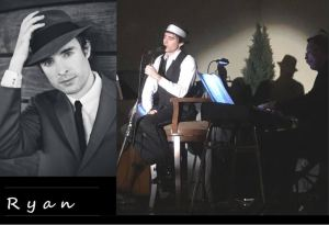 Ryan Davis and Tom Ladow Jazz Crooner for Mothers Day Dinner Event @ Bin 322 Wine Bar